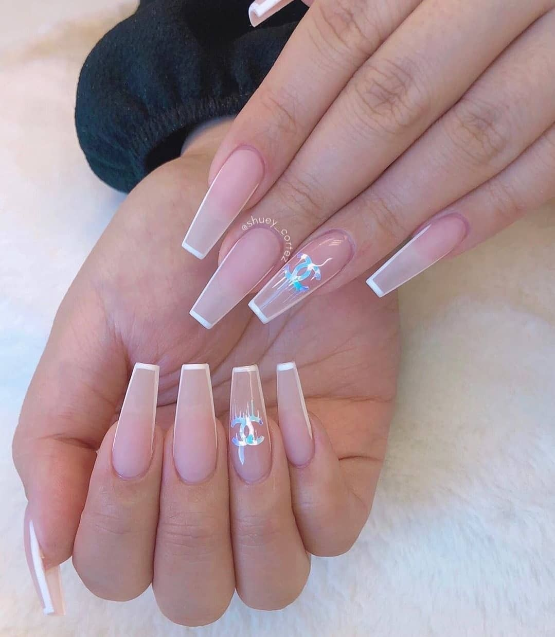 Uploaded By Moon Goddess Find Images And Videos About Girl Fashion And Style On We Heart It The Long Acrylic Nails Best Acrylic Nails Coffin Nails Designs