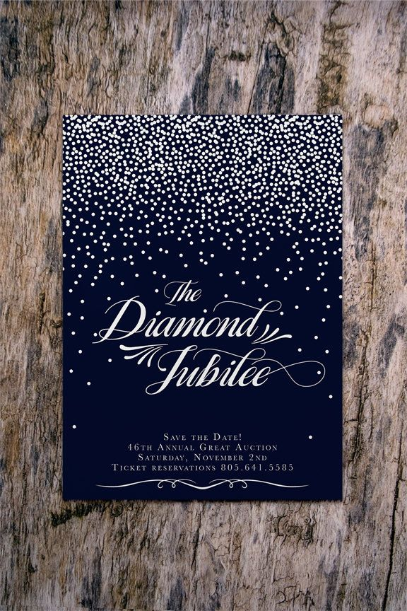 diamond wedding invitations%0A STARRY NIGHT Party Invitation SavetheDate or by fatcatempire  Holiday  Party InvitationsProm InvitesBirthday InvitationsWedding InvitationsDiamond