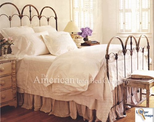 I Like This One In The Canopy Style Tho It S A Little Girly And I Don T Know If We Would Tire Of It Quickly Iron Bed Frame Iron Bed Iron Headboard