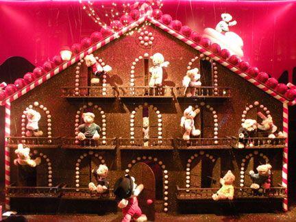 Christmas window paris galleries