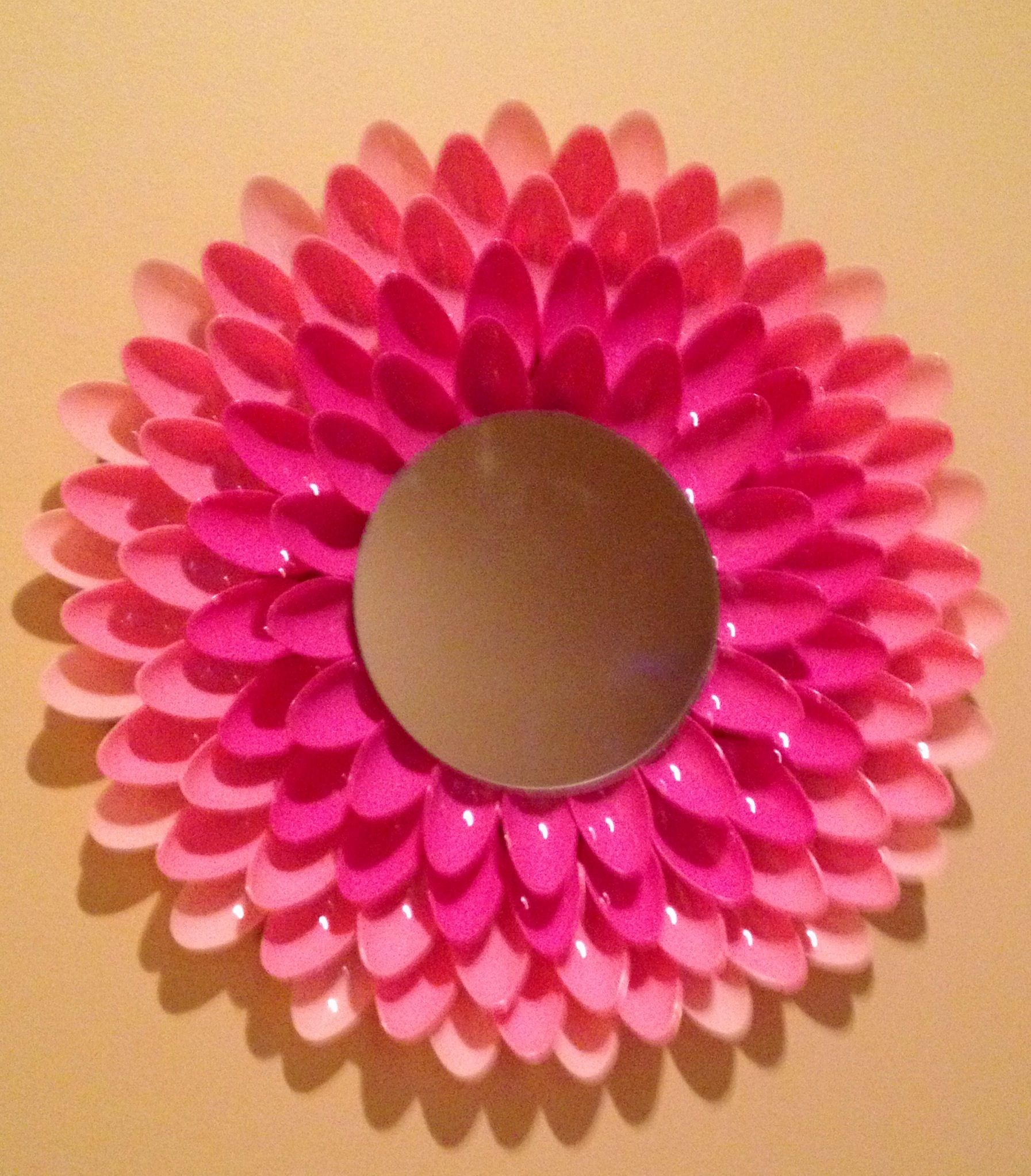 Spoon mirror DIY My Creations Pinterest
