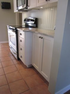 Varying Depth Counter Cabinets There