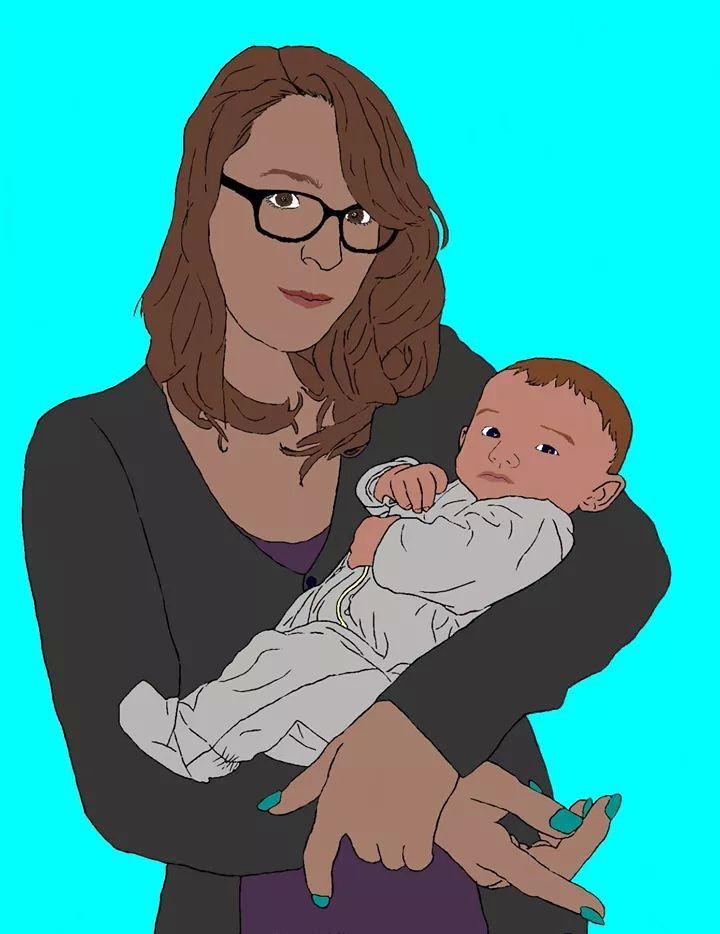 Autoportrait avec Chloé