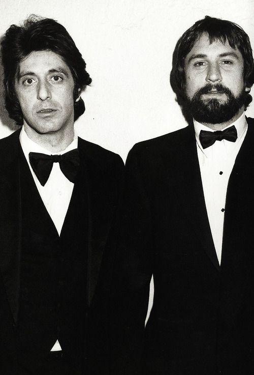 Al Pacino Robert Deniro With Images American Actors Al