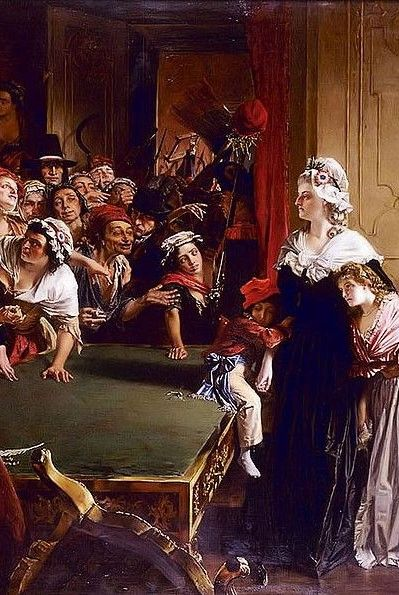 Marie Antoinette with her children and Madame Élisabeth, when the mob broke into the Tuileries Palace on 20 June 1792. — argentinaindependent.com