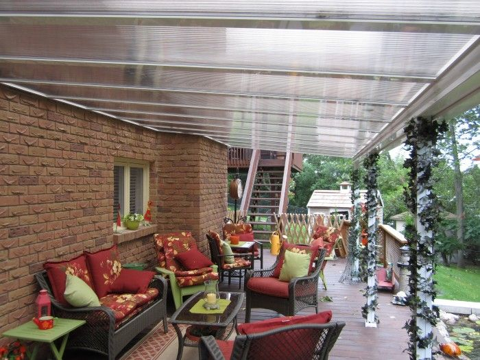 Clear Or Translucent Patio Covers And Sunroom Glazing .