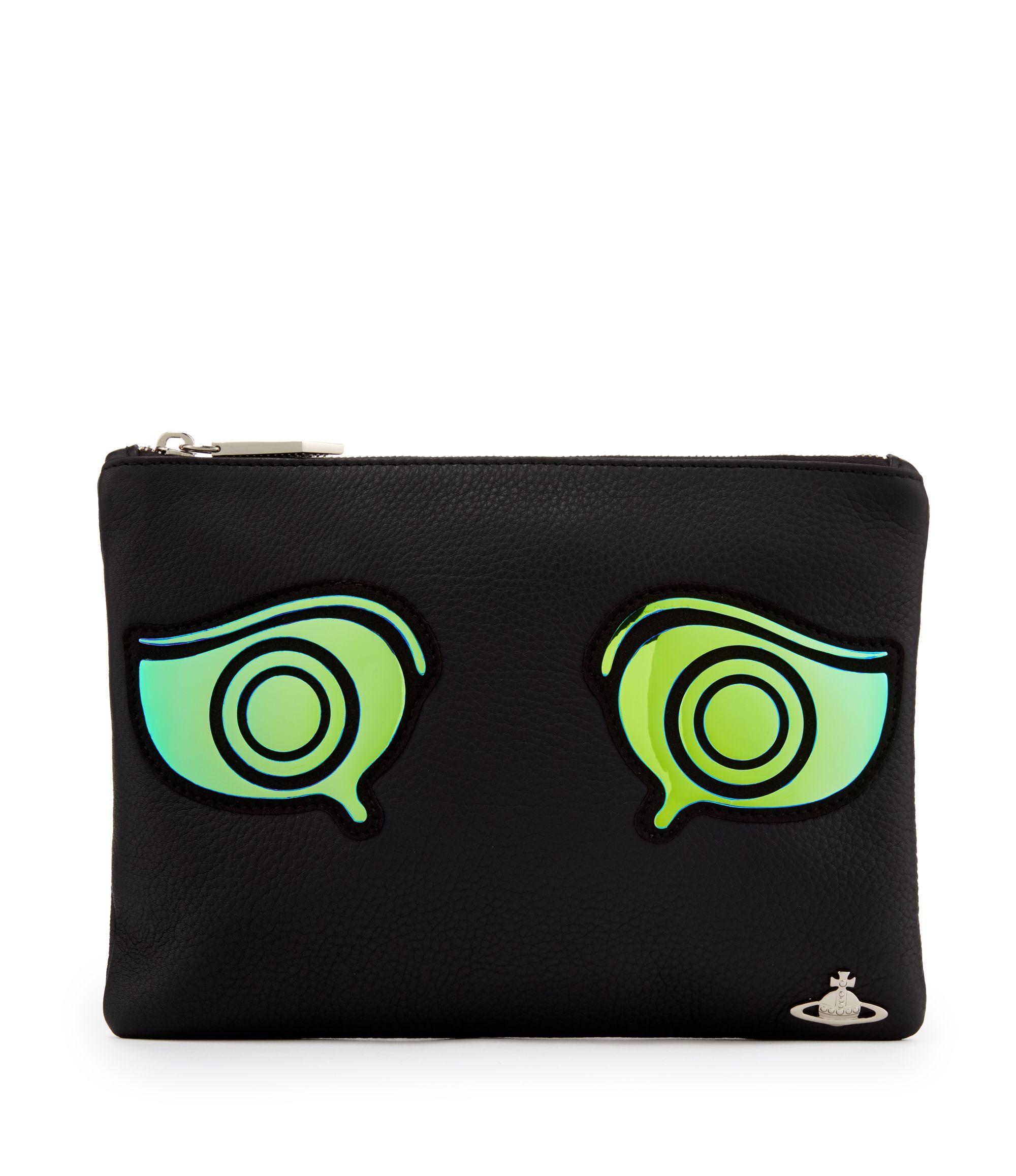 d6b98d9d79b VIVIENNE WESTWOOD Black New Greek Eye Bag 7219. #viviennewestwood #bags  #leather #