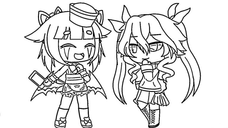 Gacha Life Coloring Pages Unique Collection Print For Free Coloring Pages Boy Coloring Cartoon People