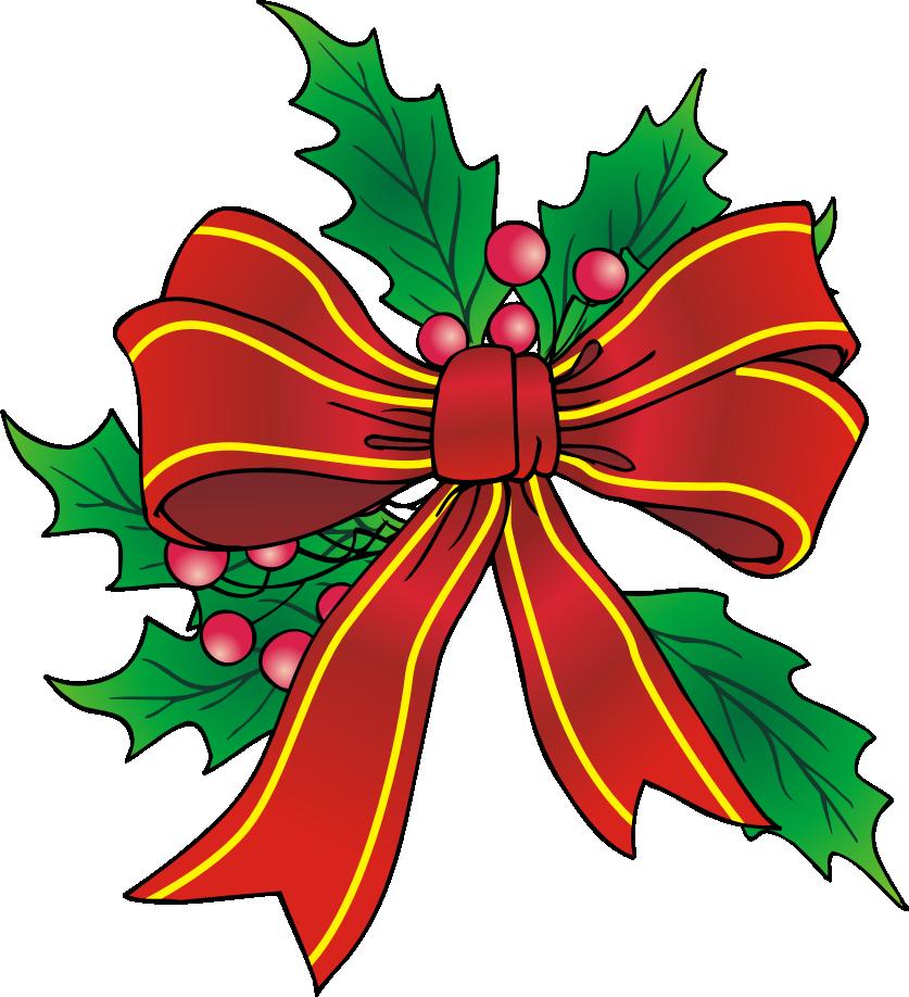 Christmas Bow Clip Art Christmas clipart free, Christmas