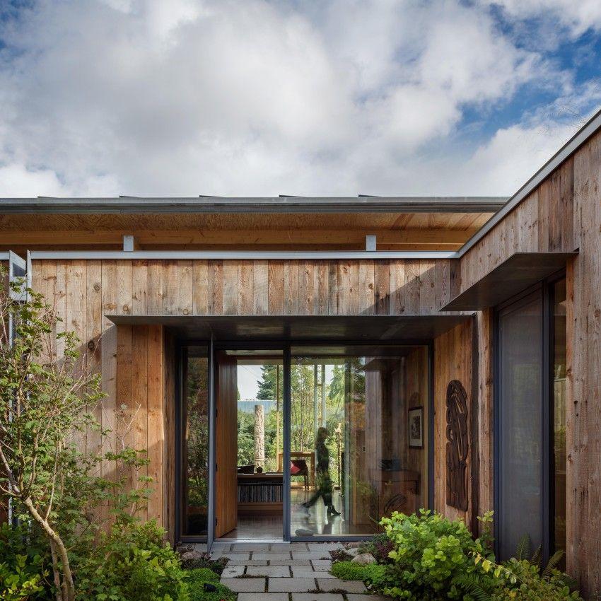 City Cabin Architect Magazine Olson Kundig Seattle Wa Single Family Cabin Building A House House