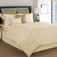 Westbourne Hotel Luxe Comforter Set   King   Ivory