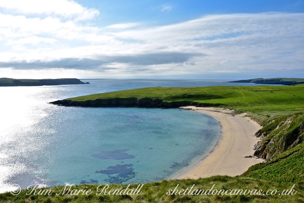 may wick shetland | fantastic Summer's day at the stunning Rerwick Beach.