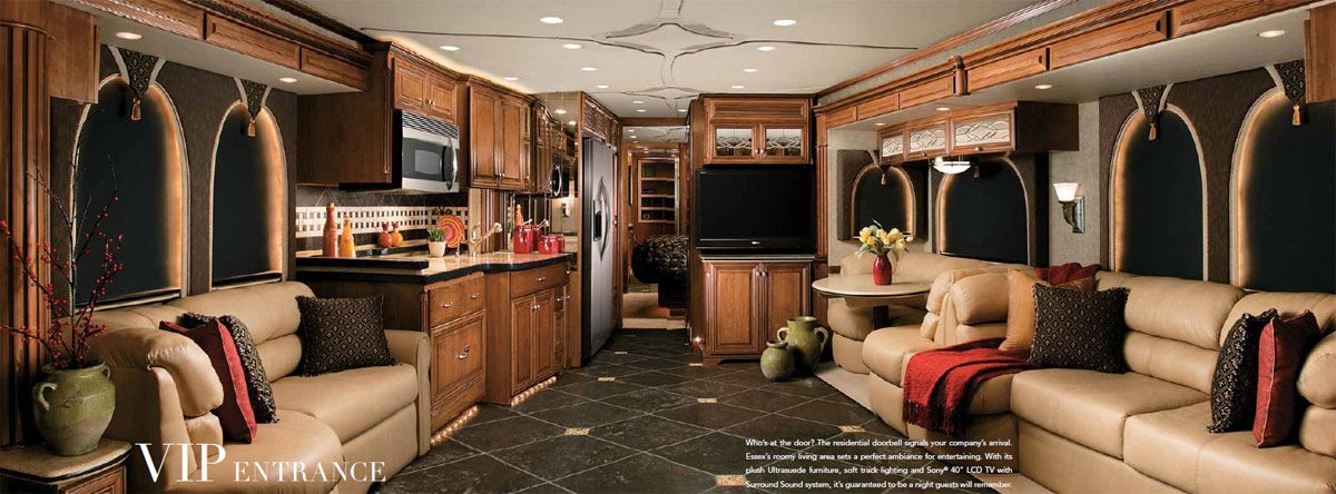 Most Luxurious Motorhomes