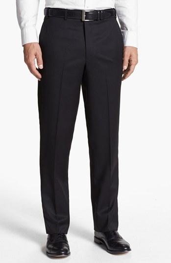 #DI MILANO UOMO           #Bottoms                  #Milano #Uomo #Flat #Front #Serge #Trousers #Black  Di Milano Uomo Flat Front Serge Trousers Black 32                             http://www.snaproduct.com/product.aspx?PID=5278246