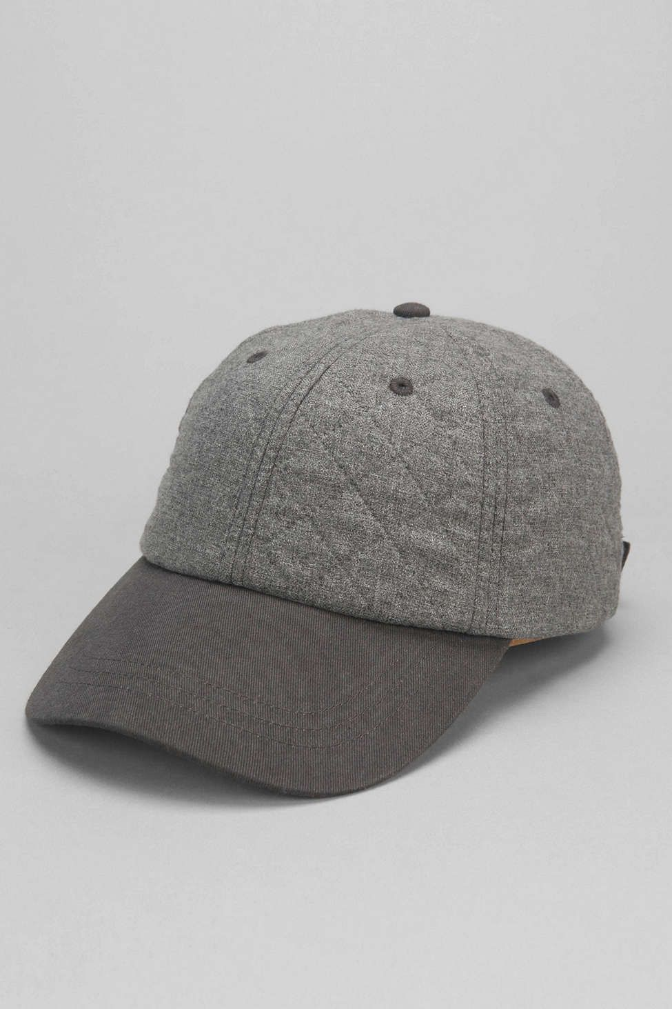 Rosin Quilted Two-Tone Baseball Hat - Urban Outfitters ... 6ebc970798ae