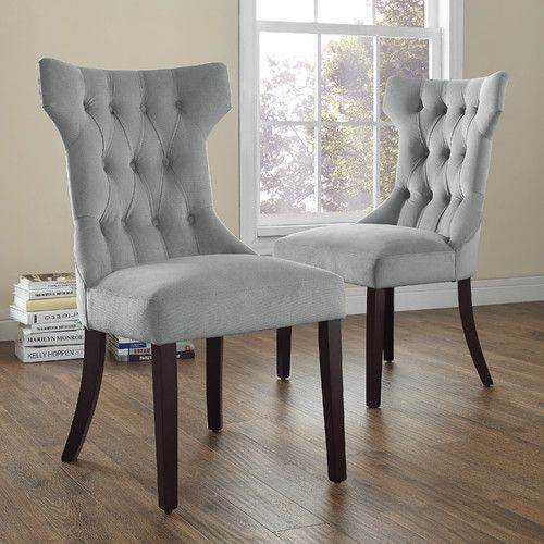 Dorel Living Clairborne Side Chair & Reviews | Tufted ...