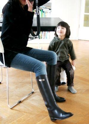 conception de la variété Quantité limitée Royaume-Uni Hermes Jumping Boots - SOLD @ 捲毛安幫您買株式會社 :: 痞客邦 ...