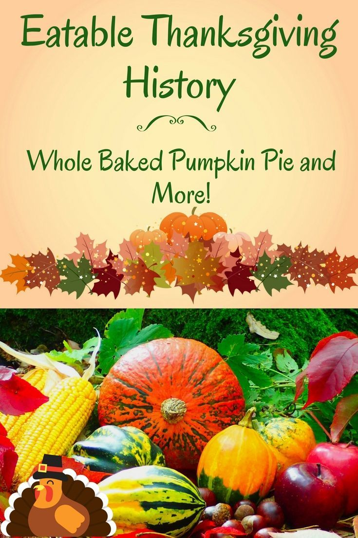 A delicious recipe for whole baked pumpkin pie with links
