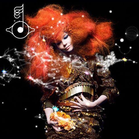 BJork - uses new technology within her music and is always futuristic within her approach to this & fashion whilst also maintaining thought for nature and wellbeing.