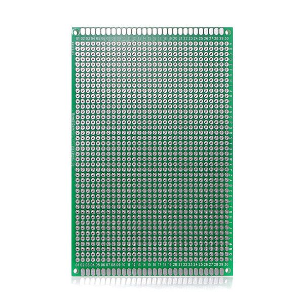 10PCS 7cm*9cm Prototyping PCB Printed Circuit Board Prototype Breadboard