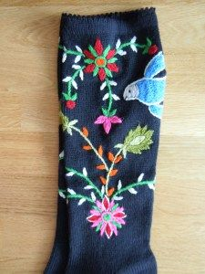 Muhu socks! Google Finnish translation to the rescue - http://puikkomaisteri.com/2011/04/27/muhun-sukat/
