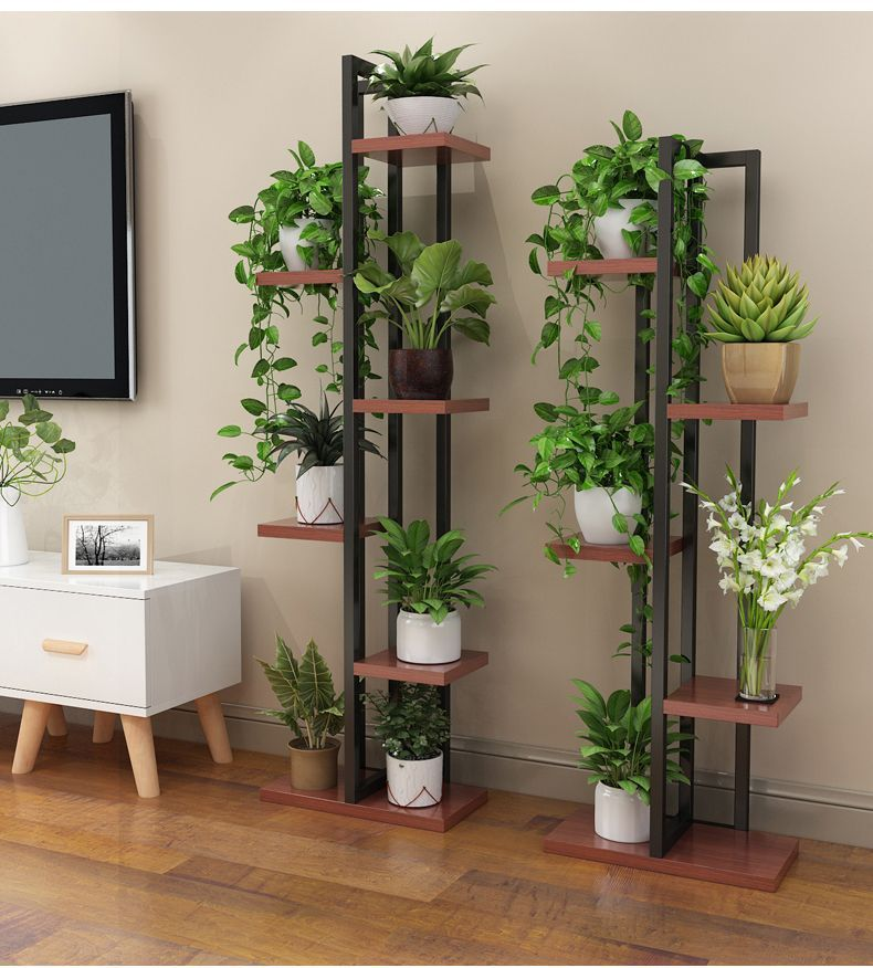 Photo of Living room flower rack shelf