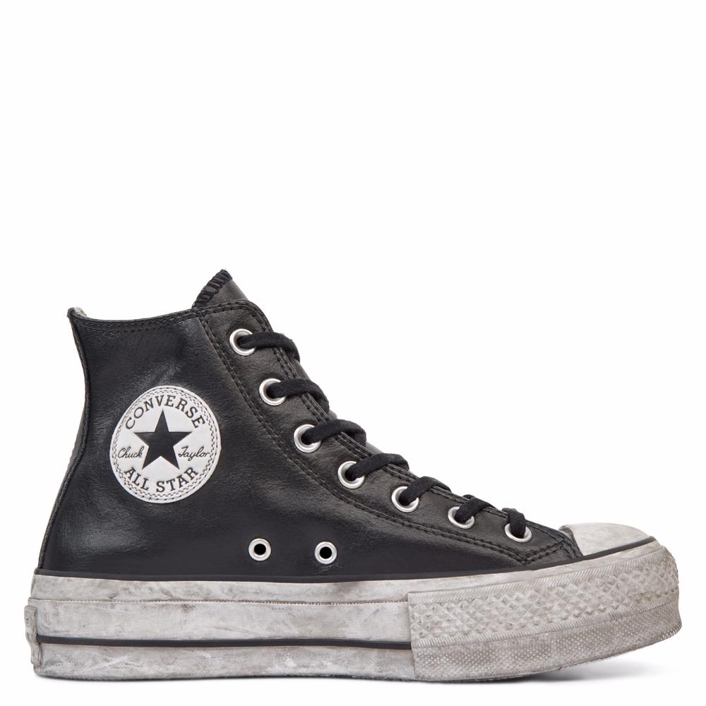 chuck taylor all star platform high top black