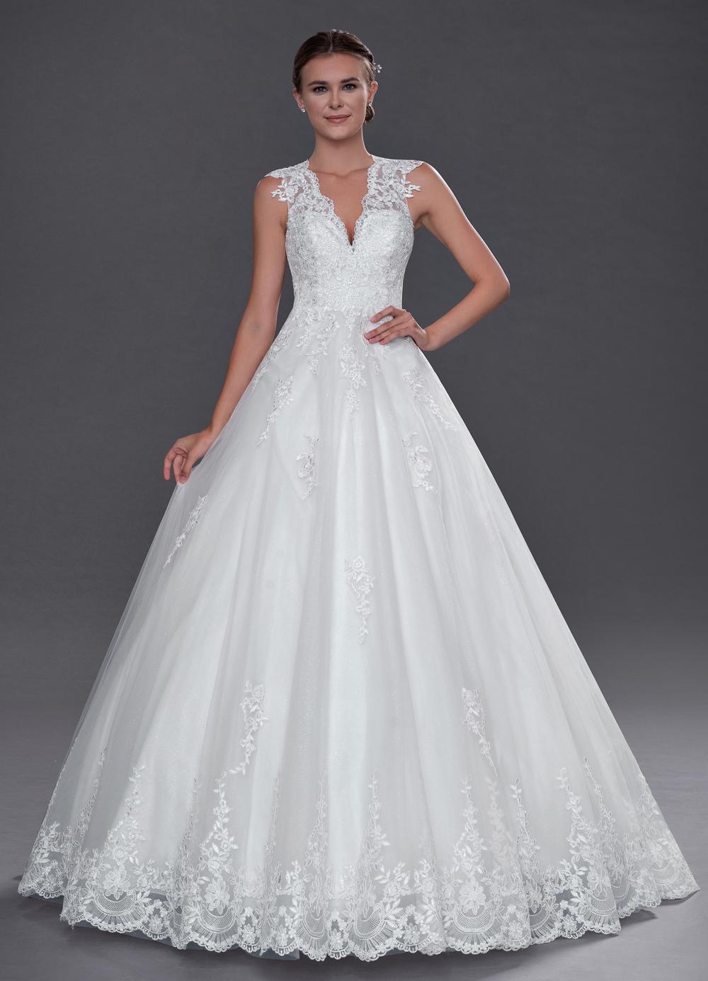 Azazie Cicely BG Wedding Dress Diamond White Azazie in