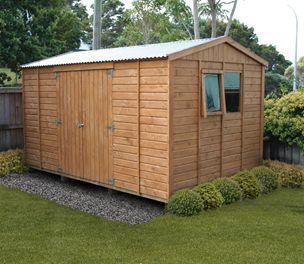 ecosheds wooden garden sheds 4m x25m - Garden Sheds Nz