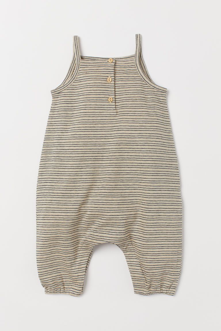 94b35eef8 H&M Sleeveless Jumpsuit - Beige   Scarlet's H&M   Romper suit ...