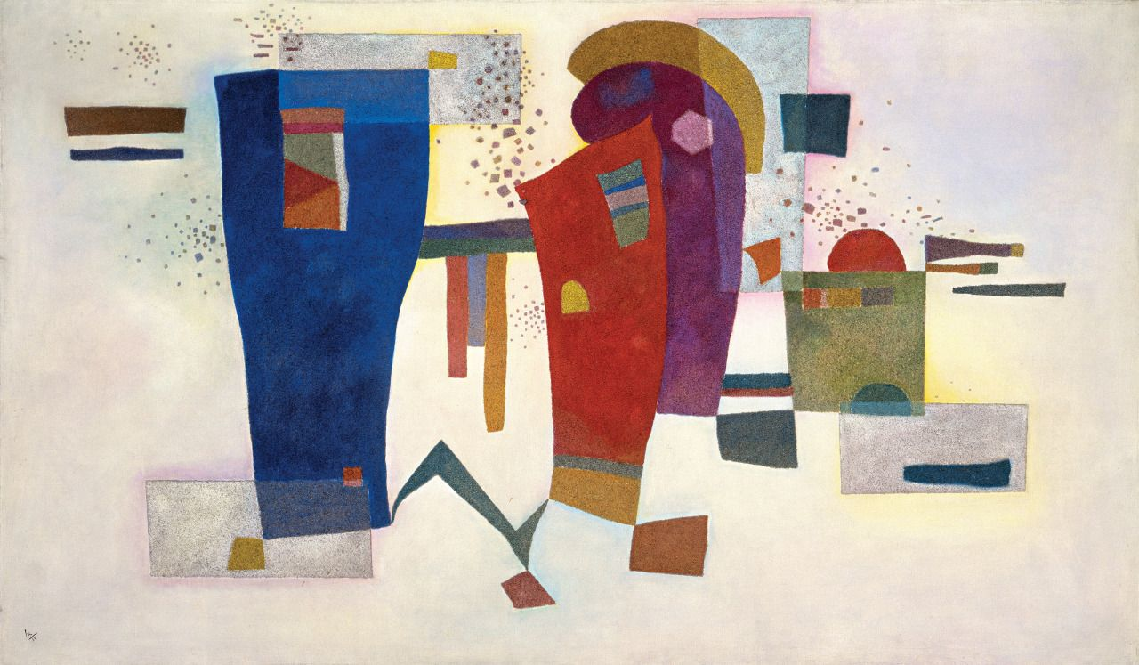 Accompanied Contrast by Vasily Kandinsky
