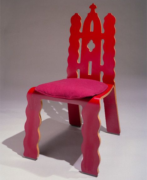 Gothic Revival Chair by Robert Venturi and Denise Scott Brown
