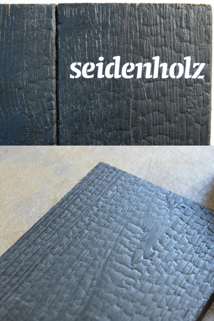 seidenholz verkohltes holz f r die fassade seidenholz inspiration pinterest fassaden. Black Bedroom Furniture Sets. Home Design Ideas