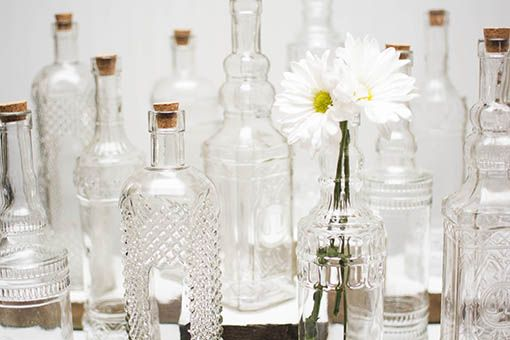 Decorative Clear Glass Bottles Inspiration Vintage Glass Bottles  Glass Bottle Bottle And Glass Decorating Inspiration