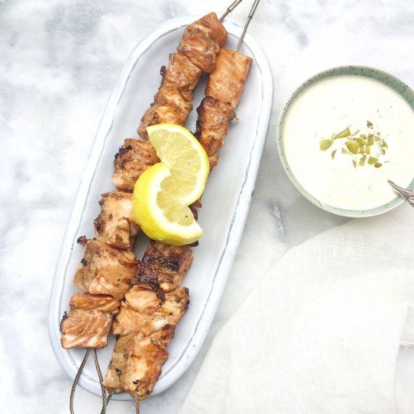 Zalm op de BBQ - Aziatische marinade