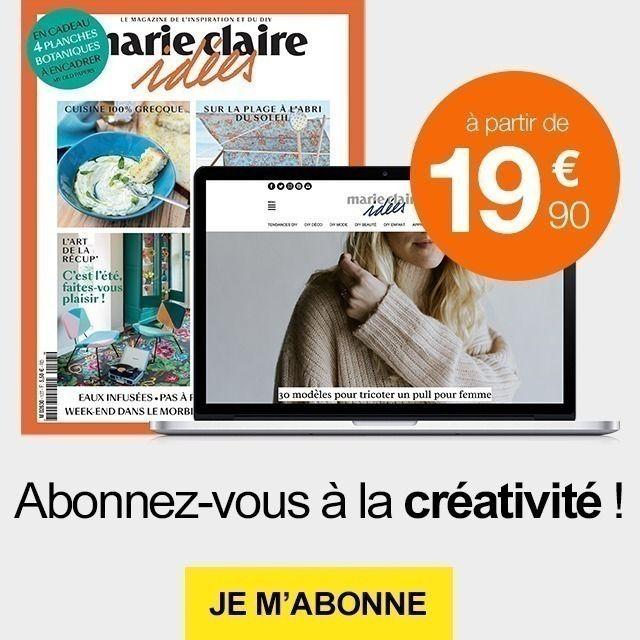 0bd8577bb893c Bougie Naturelle   50 idées pour coudre un sac Marie Claire   Objet ...