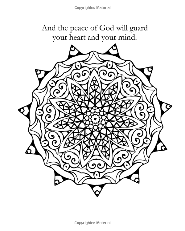 Amazon.com: Coloring with Faith (An adult coloring book with bible verses and religious affirmations) (9781519440174): Maria Montclair: Books