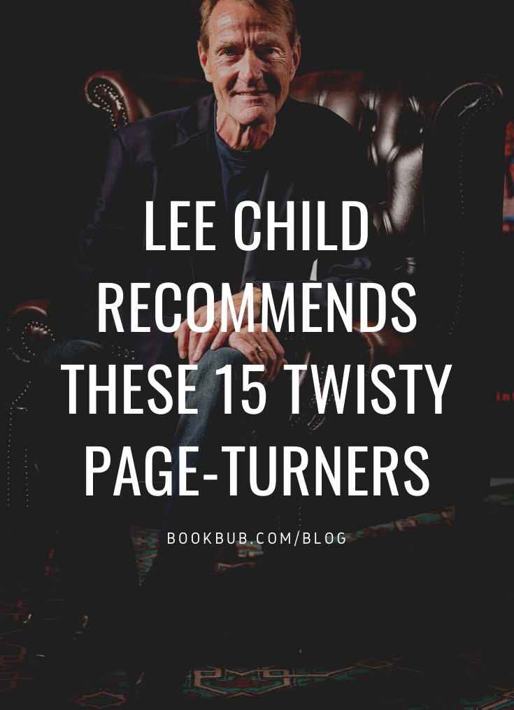 15 Books Lee Child Loved in 2019 #bookstoread