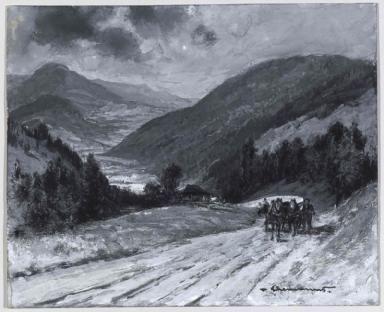 Serpentinele de la Valea Putna (Bucovina)