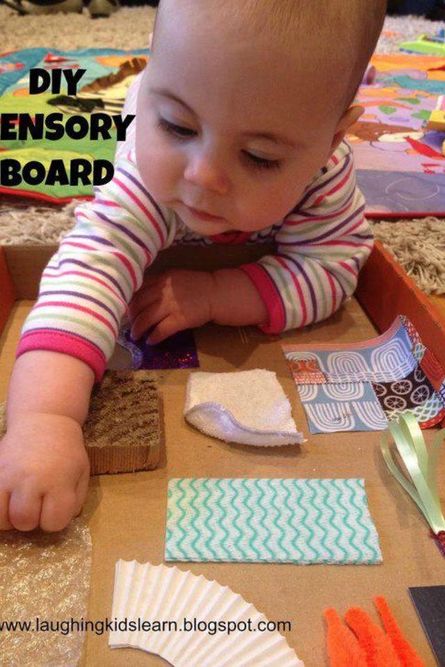 Sensory board DIY