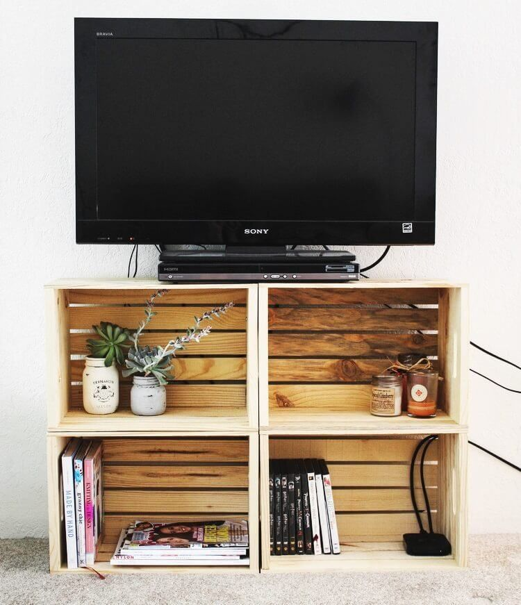 21 affordable diy tv stand ideas you can build in a