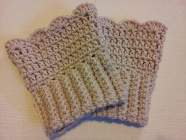 Crochet Boot Cuffs - Ready To Ship. $28.00, via Etsy. | CROCHET 1 ...