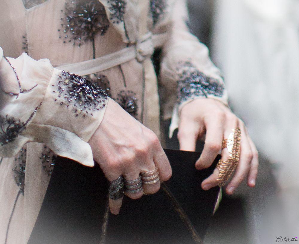 Anya Ziourova at Valentino Paris Haute Couture Fall 2013  http://www.carlytati.com