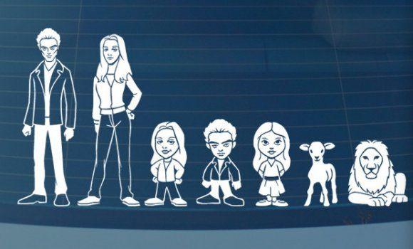 Twilight family car stickersSmital Online