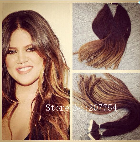 Straight New Invisible Skin Weft Hairhuman Hair Weaves Wigs
