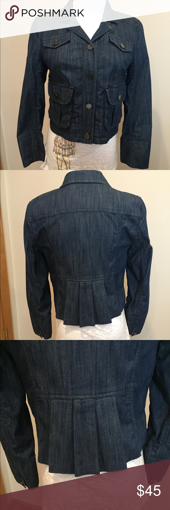 a193e6aae102 Juicy Couture Refined Denim Jeans Jacket