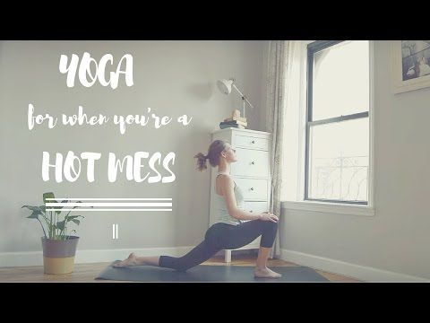 Holy Yoga For When You Re A Hot Mess Week 1 Gentle Heart Focused Yoga Flow Youtube Holy Yoga Christian Yoga Yoga For Beginners
