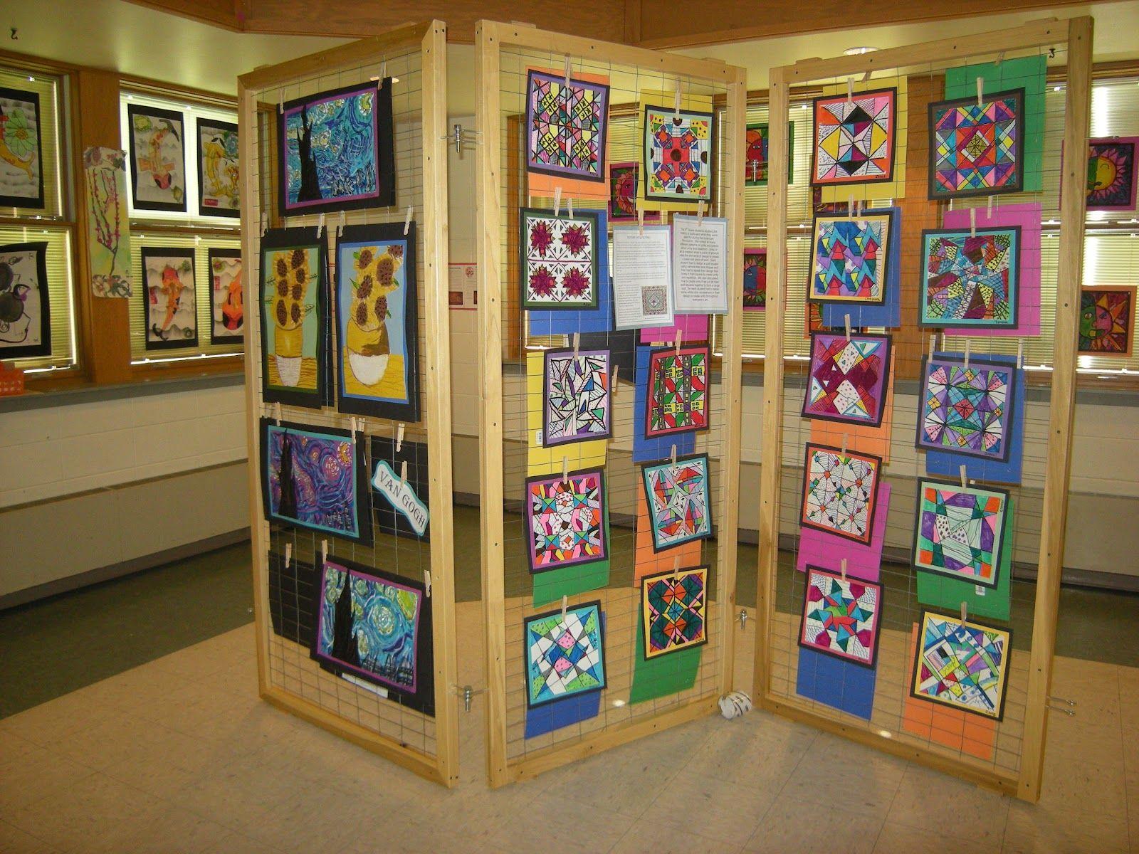 67 Art Display Ideas Show Festival
