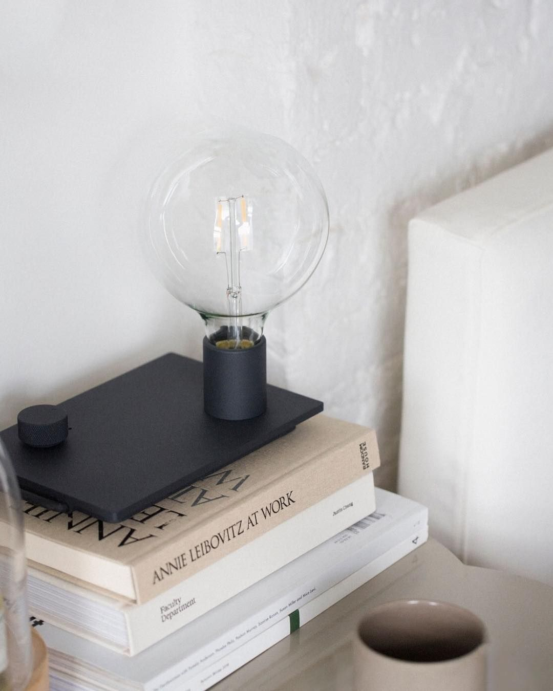 alter lighting. In Control:With A Dial To Alter The Volume Of Light Control Table Lamp Lighting