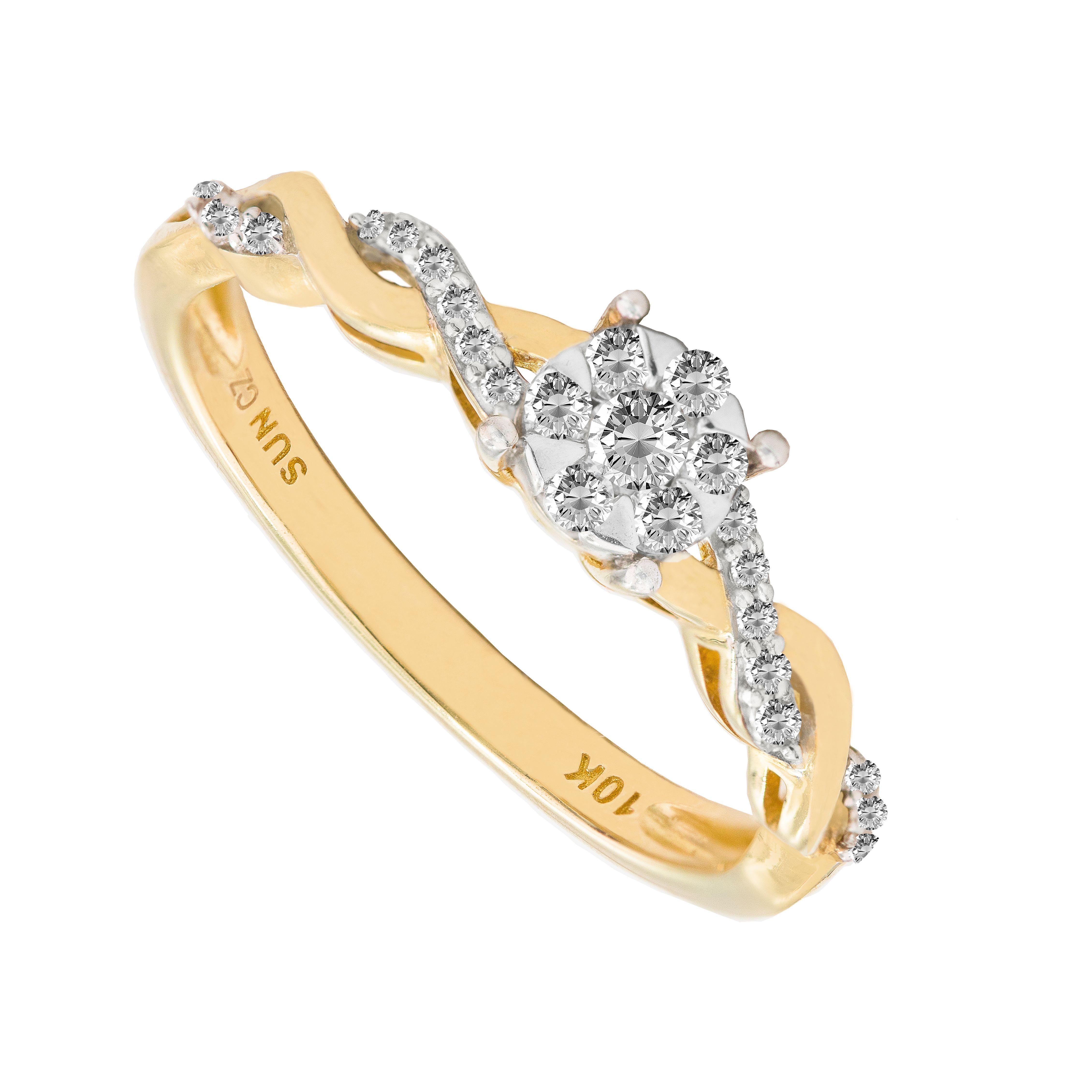 white Yellow Wedding Band Semi eternity ring Promise Ring ENGAGEMEMT Ring yellow Gold  heart  Ring name  Gold Ring DIAMOND Ring